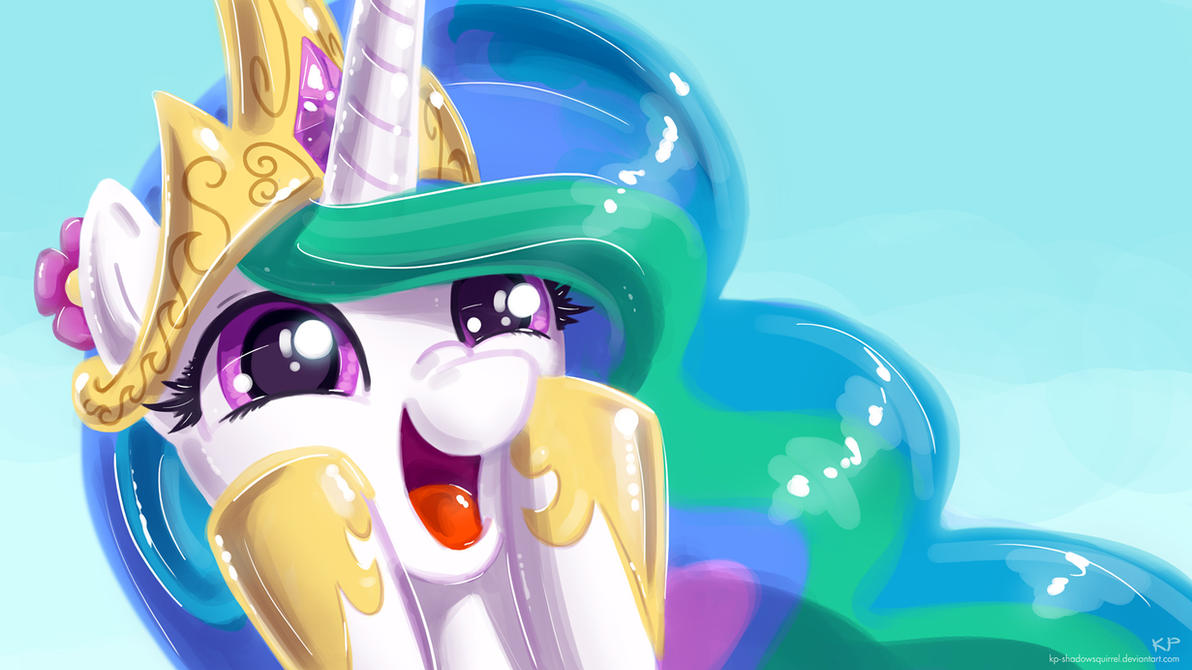 Celestia Portrait 3 by KP-ShadowSquirrel