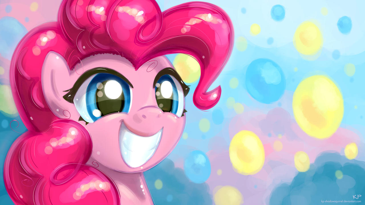 Happy Pinkie Pie by KP-ShadowSquirrel