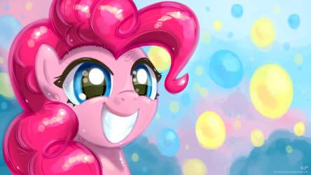 Happy Pinkie Pie by KP-ShadowSquirrel