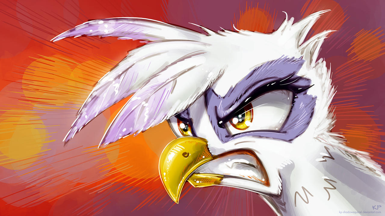 Angry Bird by KP-ShadowSquirrel