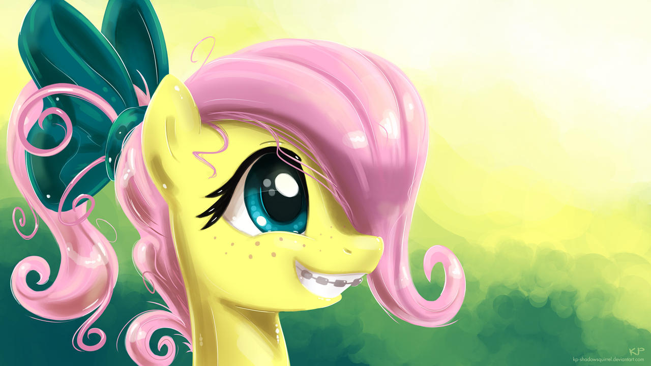 Young Fluttershy by KP-ShadowSquirrel
