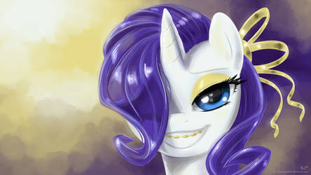 Young Rarity by KP-ShadowSquirrel