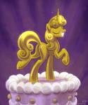 Sweetie Belle Cake