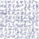 Super Speedy Pony Sketches