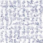 Super Speedy Pony Sketches 2