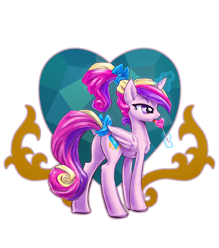 Cadance Uses Lick - Shirt Design by KP-ShadowSquirrel