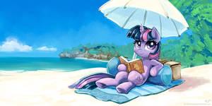 Twilight At The Beach