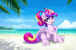 Guess where Cadance is ...