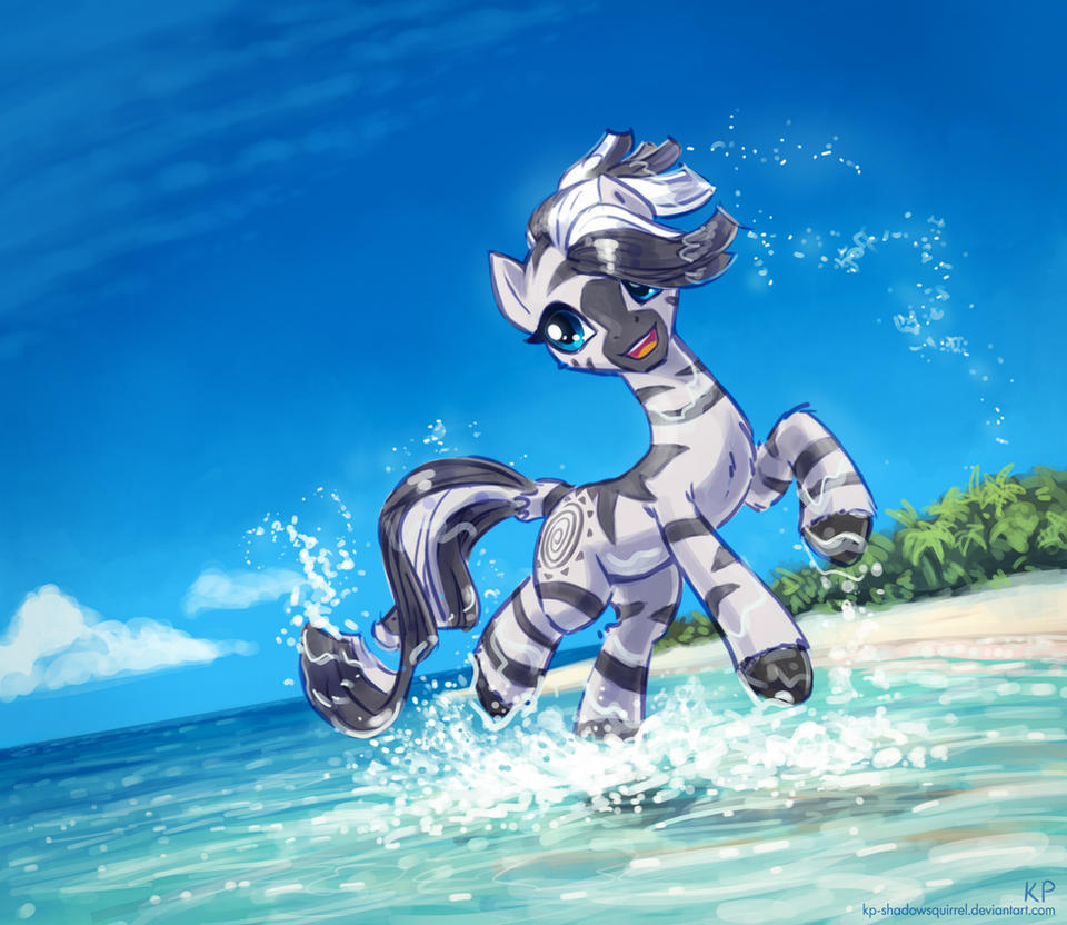 zecora_at_the_beach_by_kp_shadowsquirrel