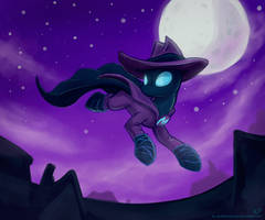 I Am the Night! by KP-ShadowSquirrel