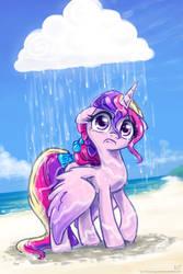 Raincloud on the loose by KP-ShadowSquirrel