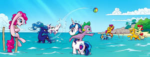 It's a beautiful day for a ballgame... by KP-ShadowSquirrel