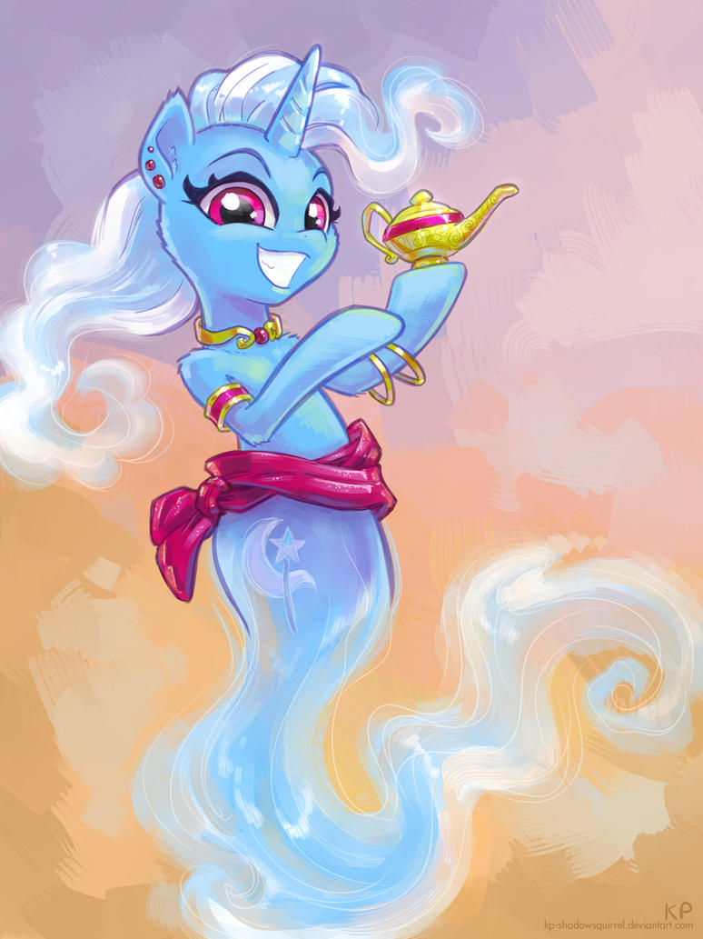Trixie of the Lamp by KP-ShadowSquirrel