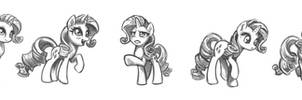 Rarity Sketches #1