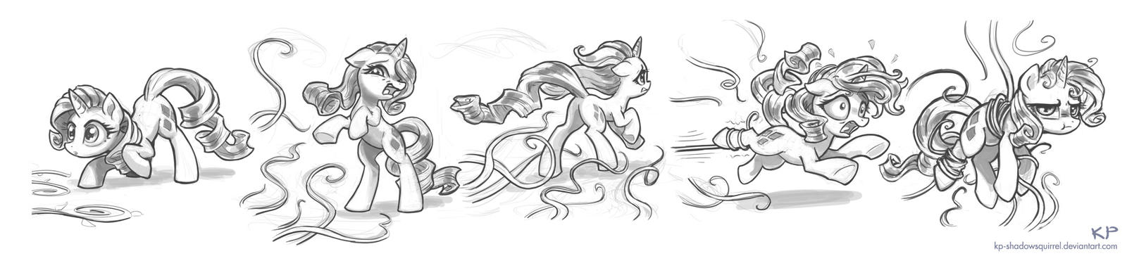 Rarity Sketches #6 by KP-ShadowSquirrel