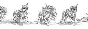 Luna Sketches #1
