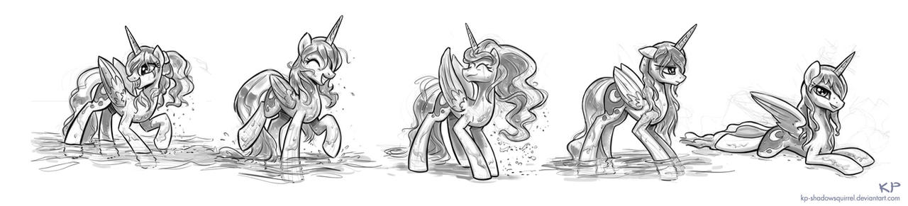 Luna Sketches #1 by KP-ShadowSquirrel