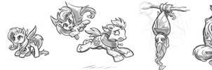 Flutterbat Sketches #1