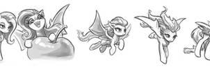 Flutterbat Sketches #2