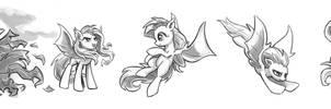 Flutterbat Sketches #3