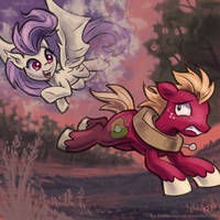 I will get you yet! by KP-ShadowSquirrel