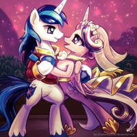 Love is in bloom by KP-ShadowSquirrel