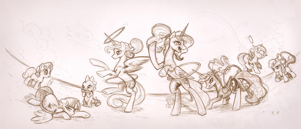 Royal Loop de Hooping by KP-ShadowSquirrel