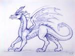 Chrysalis the Dragon