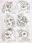 Alicorn Pops Sketch