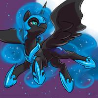 Speedpaint 23 - Nightmare Moon by KP-ShadowSquirrel