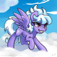 Speedpaint 41 - Cloudchaser by KP-ShadowSquirrel