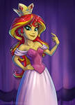 Princess Sunset - Year Two by KP-ShadowSquirrel