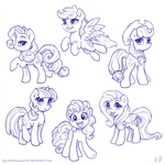 Those Cute Ponies