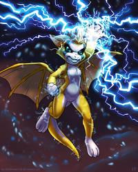 Fidget - Lightning Mode by KP-ShadowSquirrel