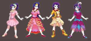 Rarity's Dresses