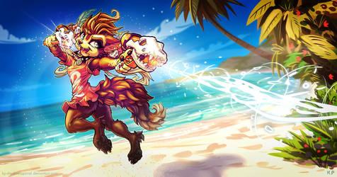 Winnie Werewolf by KP-ShadowSquirrel