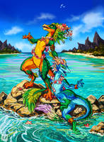 Lizards by KP-ShadowSquirrel