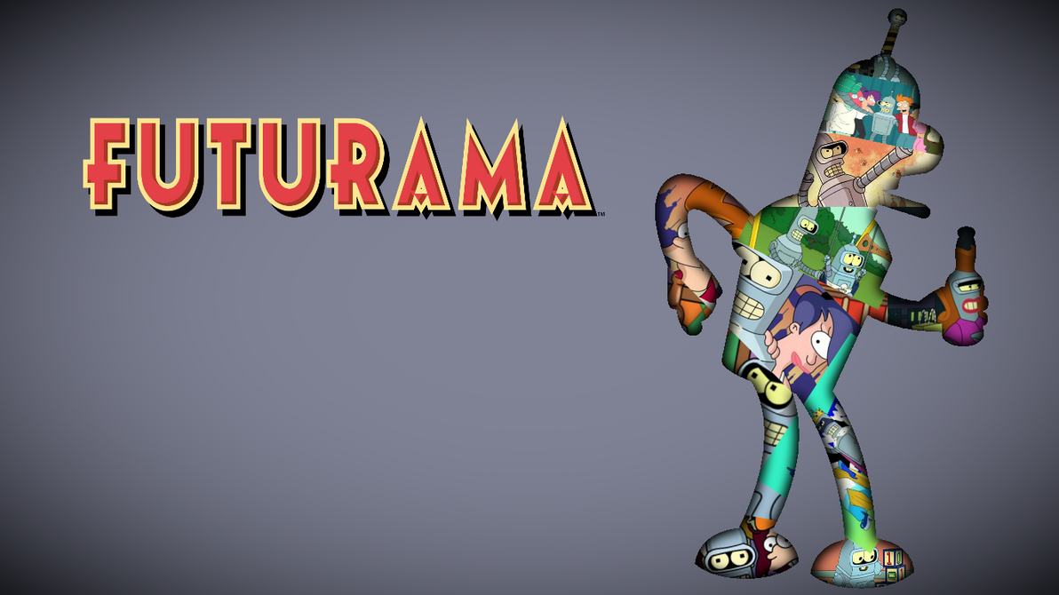 Bender futurama wallpaper by lukasbrownie on deviantart - Futurama wallpaper ...