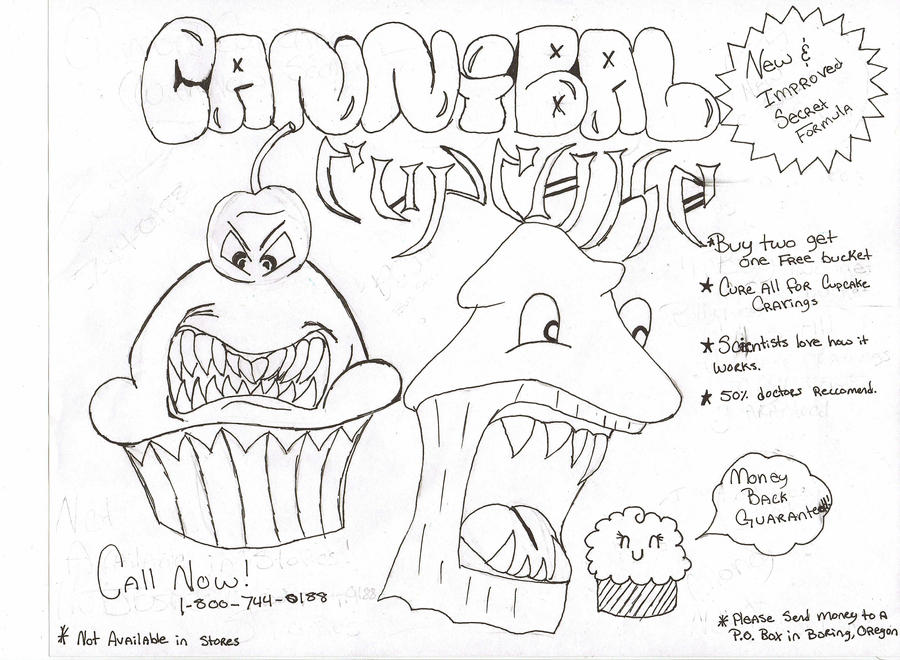 Cannibal cupcake is who Cupcake and