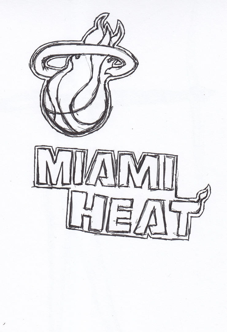 Heat Basketball Coloring Pages Coloring Pages