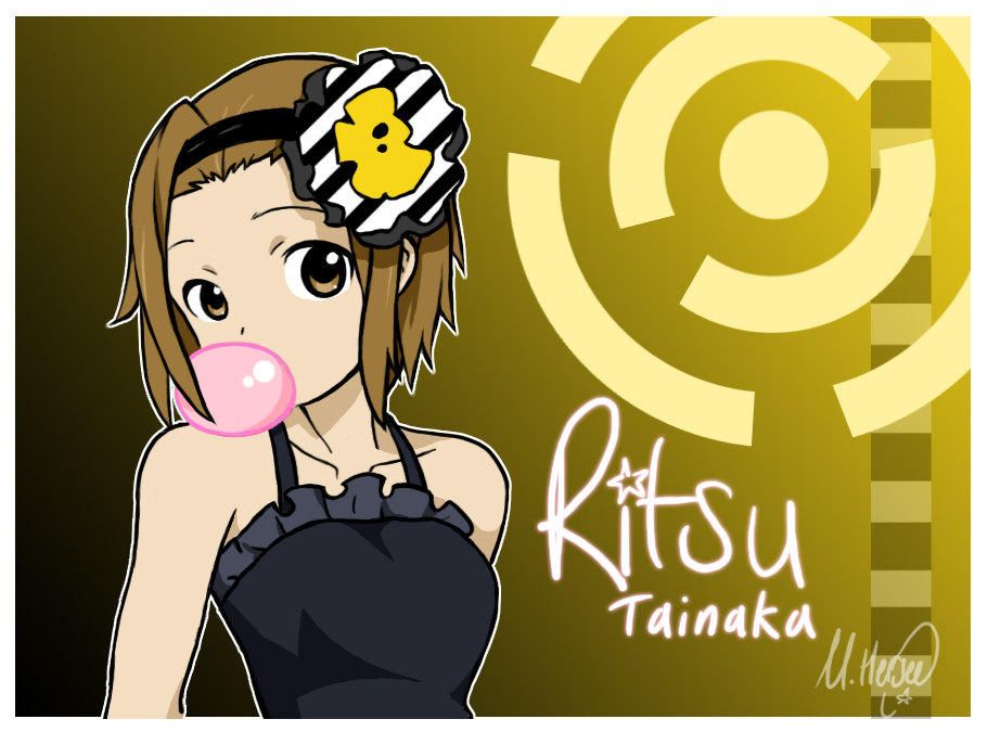 K On Ritsu K-On - Ritsu Tainaka by