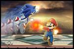 Sonic VS Mario: Choose a side