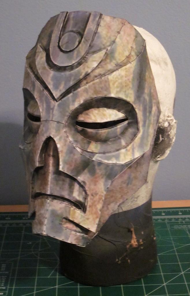 Skyrim Dragon Priest Mask by hsholderiii