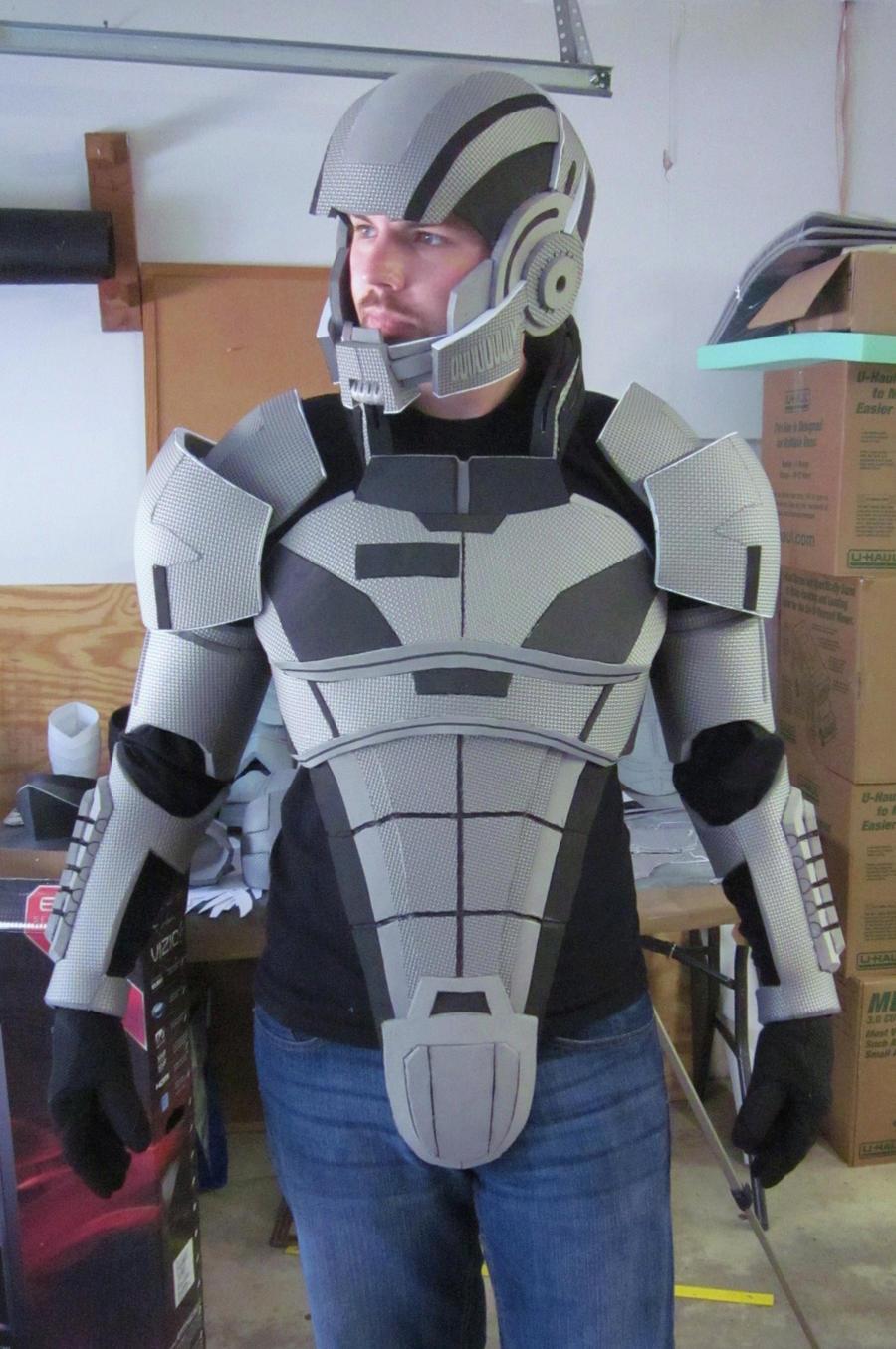 N7 Armor Test Fit II by hsholderiii