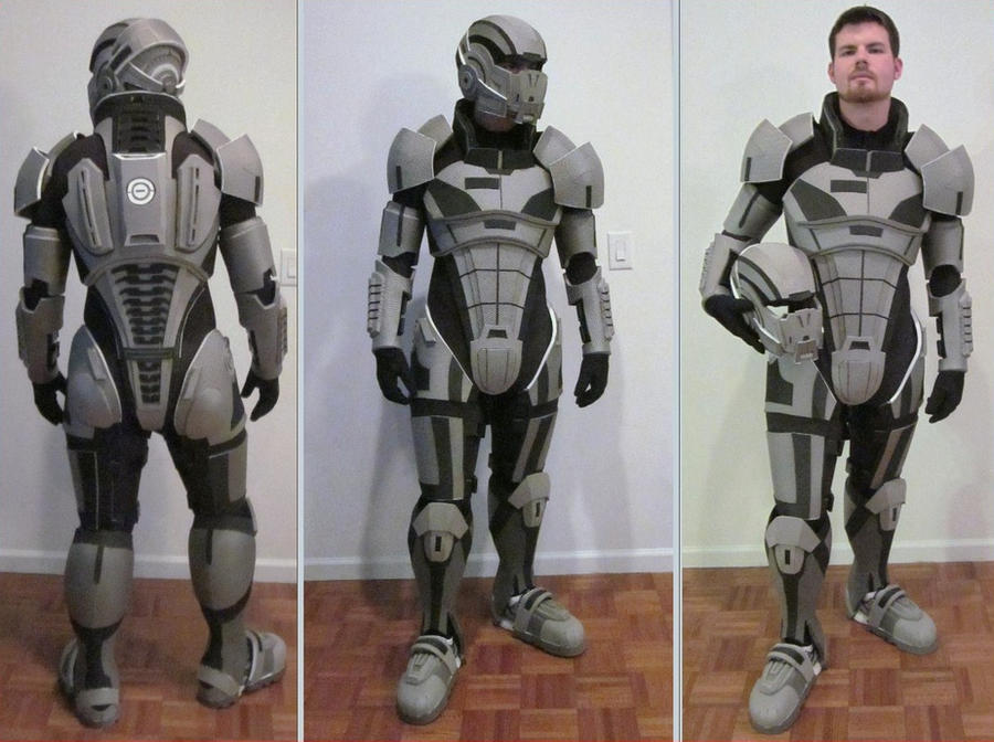 Sci fi foam armor templates the image for Mass effect 3 n7 armor template