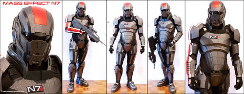 N7 Armor Test Fit V by hsholderiii
