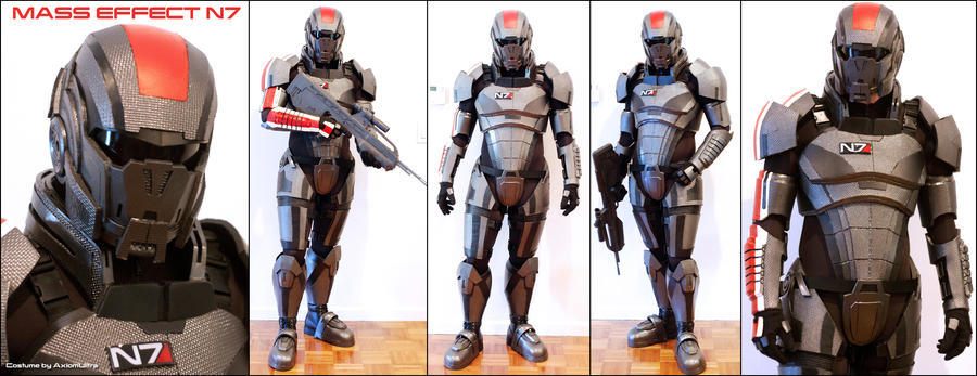 N7 armor test fit v by hsholderiii on deviantart for Mass effect 3 n7 armor template