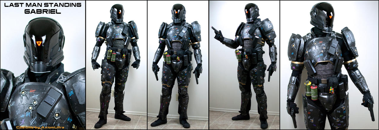 LMS Gabriel Costume Test by AxiomUltra by hsholderiii