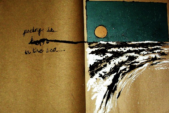 Poetry is Born in the Sea by Reowyn