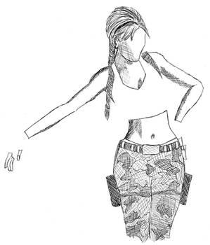 Illustration - Lara Croft